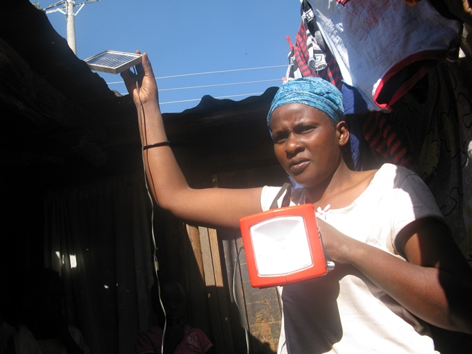 Solar Project Lights Up Lives in Kibera Slum